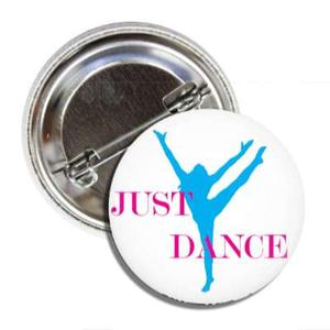 BALLET ROCKS Just Dance Button SKU 209
