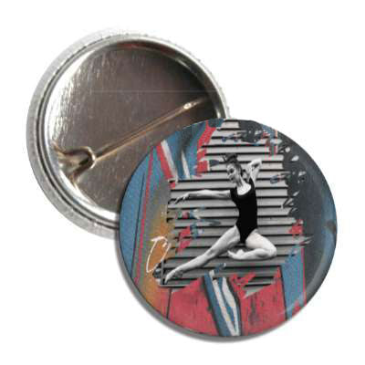 BALLET ROCKS Dancer Ballet Rocks Button SKU 202