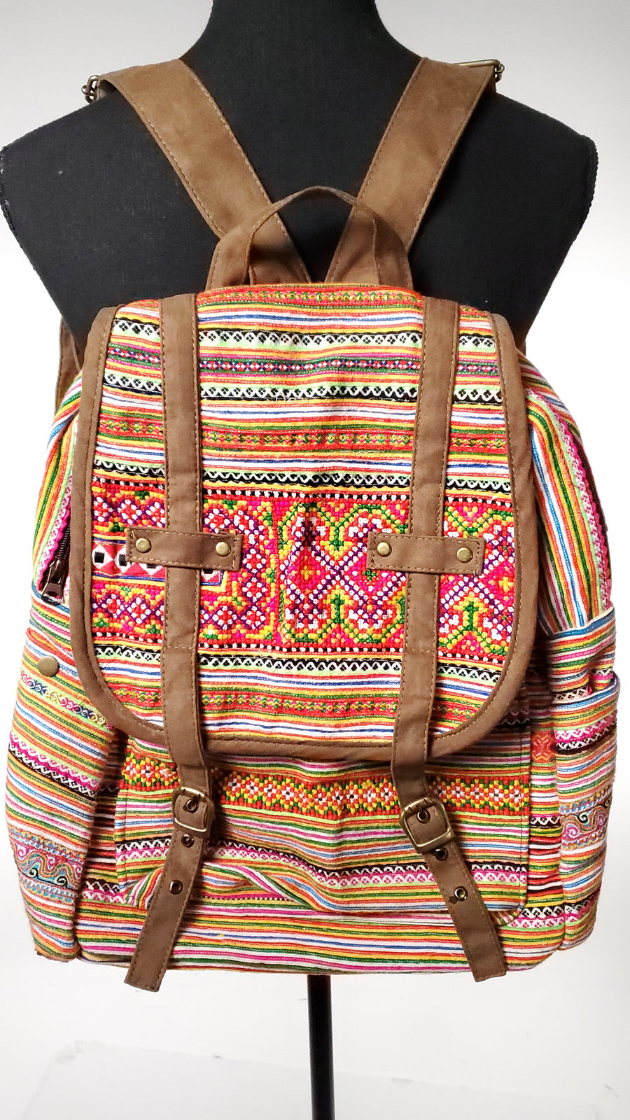 Tribal Back Pack-The High Thai-The High Thai-Yoga Pants-Harem Pants-Hippie Clothing-San Diego