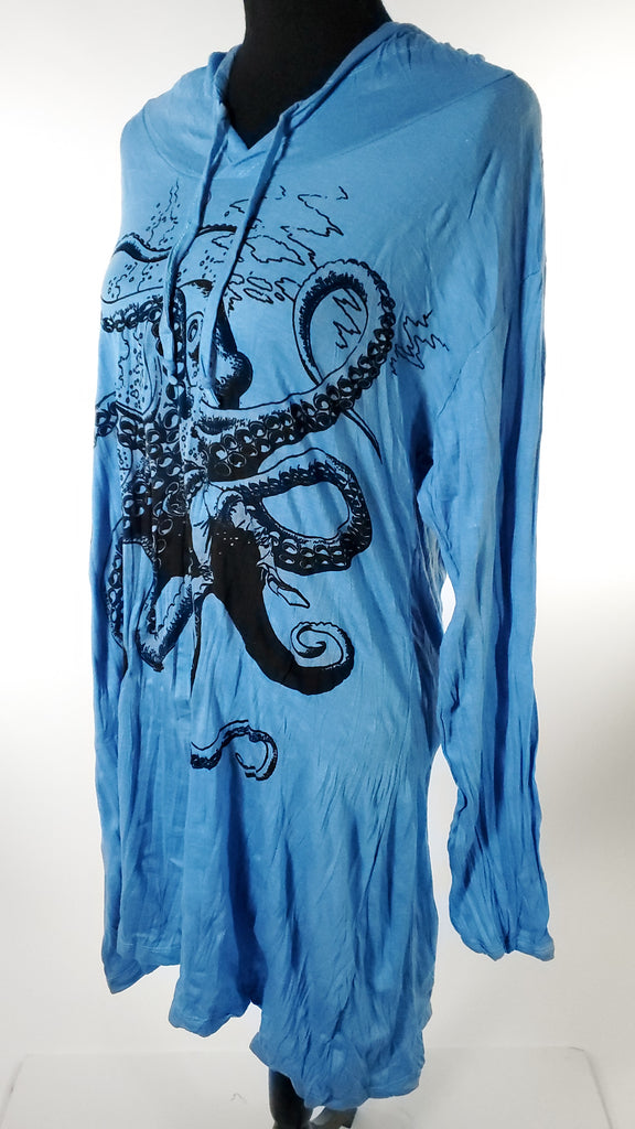 Women's Medium Hoody Dress-The High Thai-The High Thai-Yoga Pants-Harem Pants-Hippie Clothing-San Diego