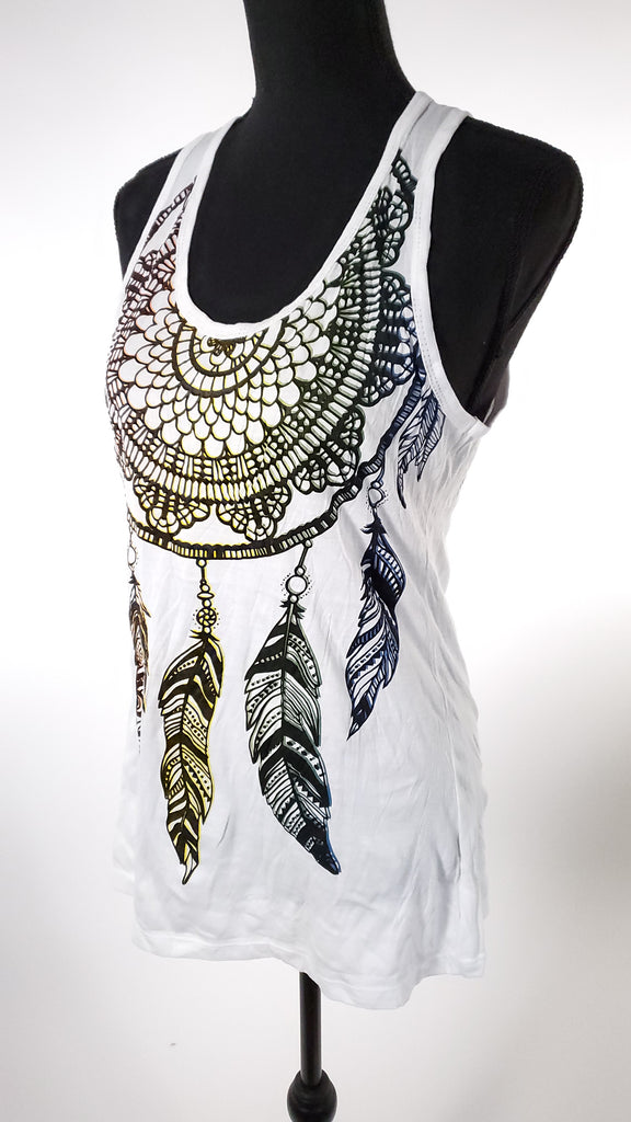 Women's Large Tank Top-The High Thai-The High Thai-Yoga Pants-Harem Pants-Hippie Clothing-San Diego