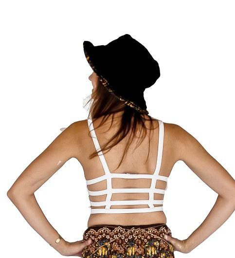 Sports Bra Grid Back-The High Thai-The High Thai-Yoga Pants-Harem Pants-Hippie Clothing-San Diego