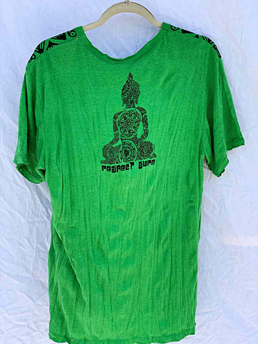 Men's Medium Printed T-Shirt-The High Thai-The High Thai-Yoga Pants-Harem Pants-Hippie Clothing-San Diego
