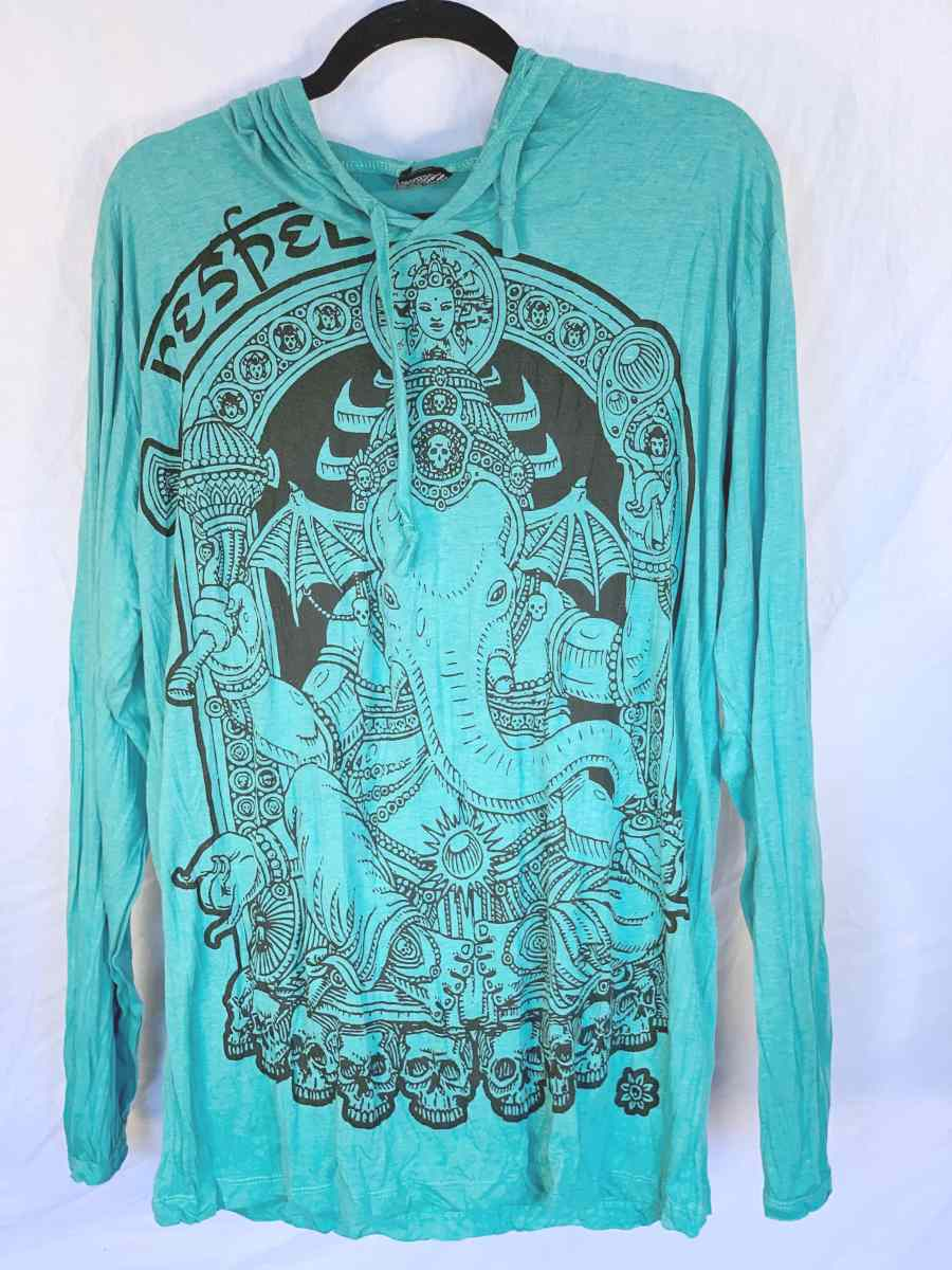 Men's Large Printed Hoody-The High Thai-The High Thai-Yoga Pants-Harem Pants-Hippie Clothing-San Diego