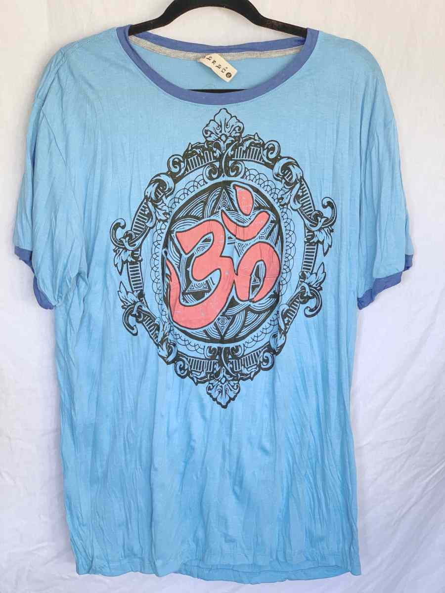 Men's XL Printed T-Shirt-The High Thai-The High Thai-Yoga Pants-Harem Pants-Hippie Clothing-San Diego
