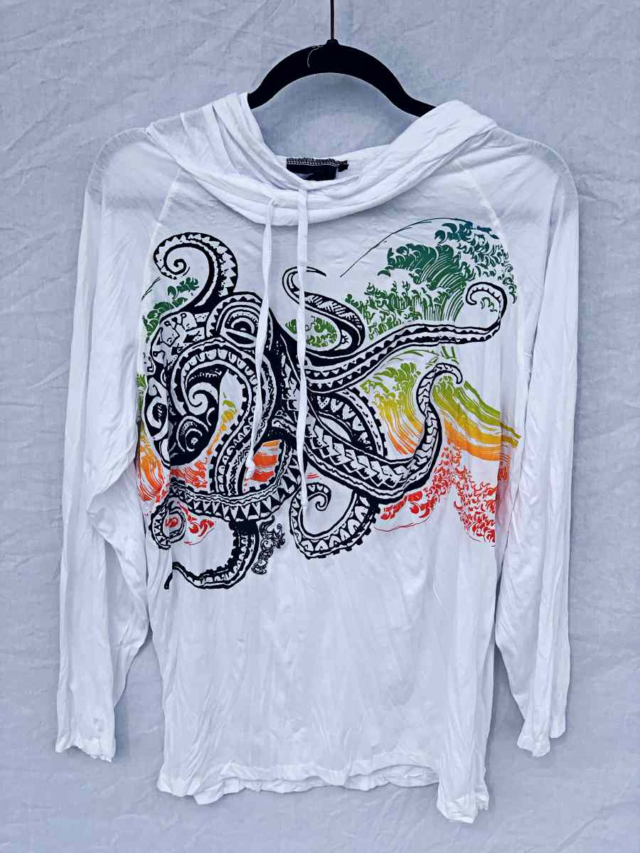 Men's Medium Printed Hoody-The High Thai-The High Thai-Yoga Pants-Harem Pants-Hippie Clothing-San Diego
