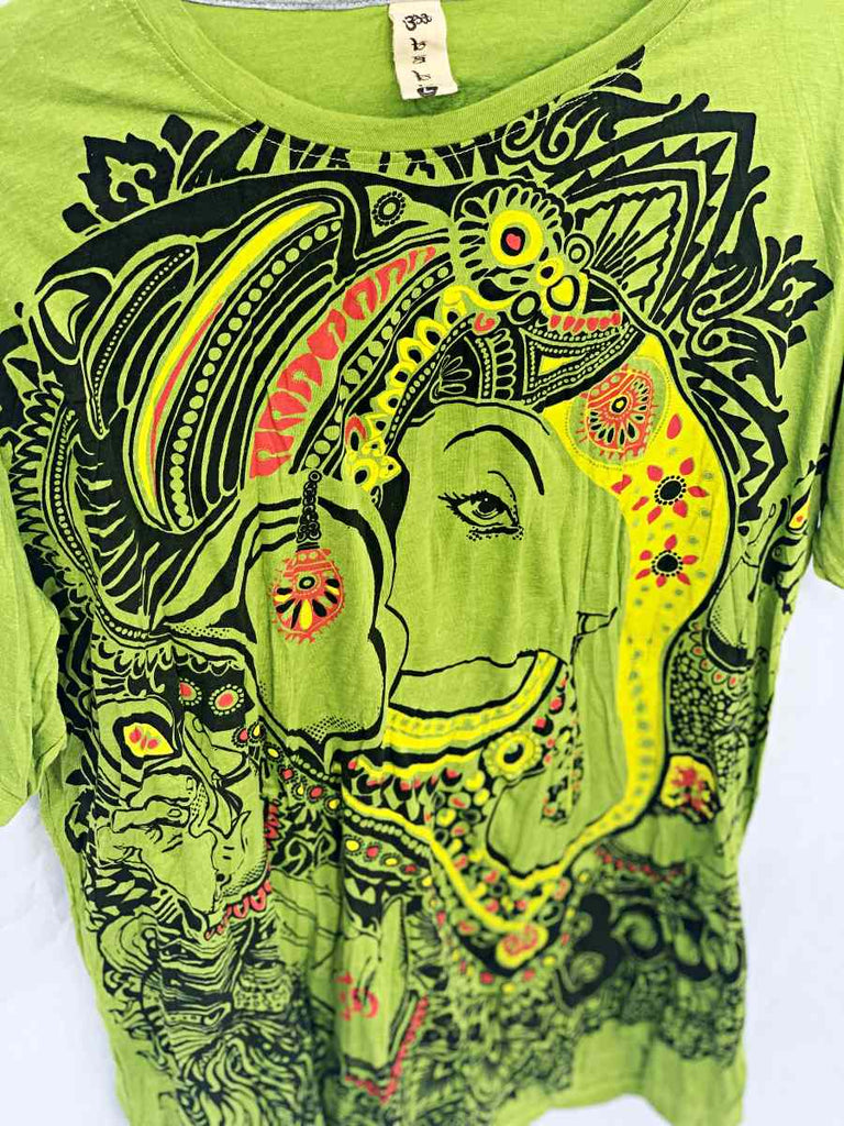 Men's Large Printed T-Shirt-The High Thai-The High Thai-Yoga Pants-Harem Pants-Hippie Clothing-San Diego