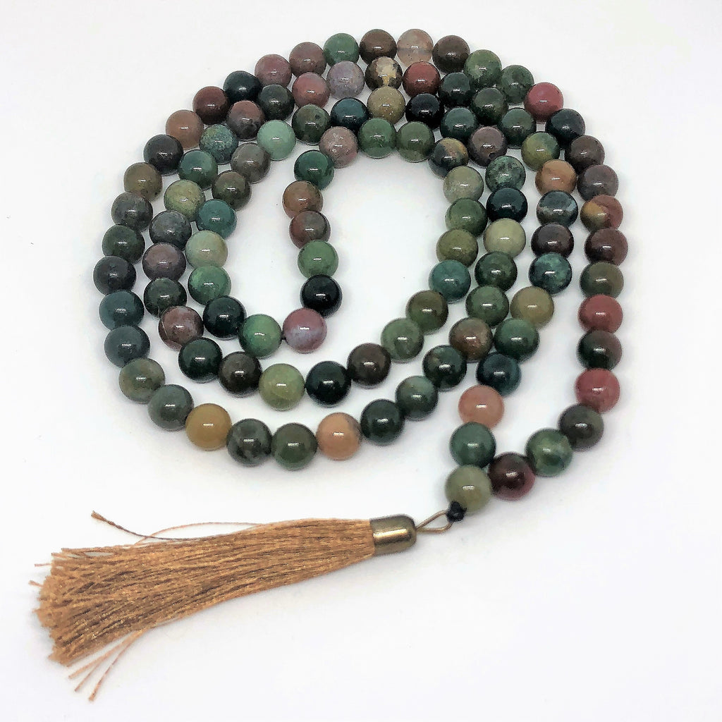Mala Beads In Jade-The High Thai-The High Thai-Yoga Pants-Harem Pants-Hippie Clothing-San Diego