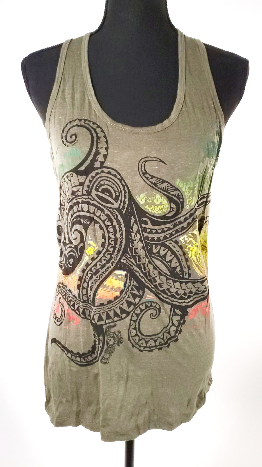 Women's Small Tank Top-The High Thai-The High Thai-Yoga Pants-Harem Pants-Hippie Clothing-San Diego