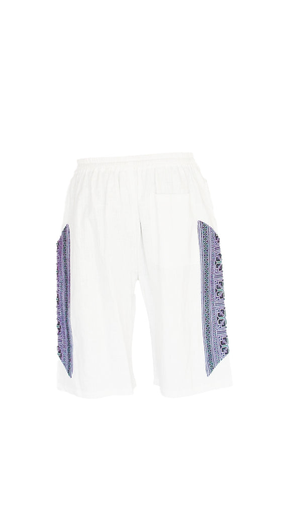 Tribal Symmetry Hemp Shorts-The High Thai-The High Thai-Yoga Pants-Harem Pants-Hippie Clothing-San Diego