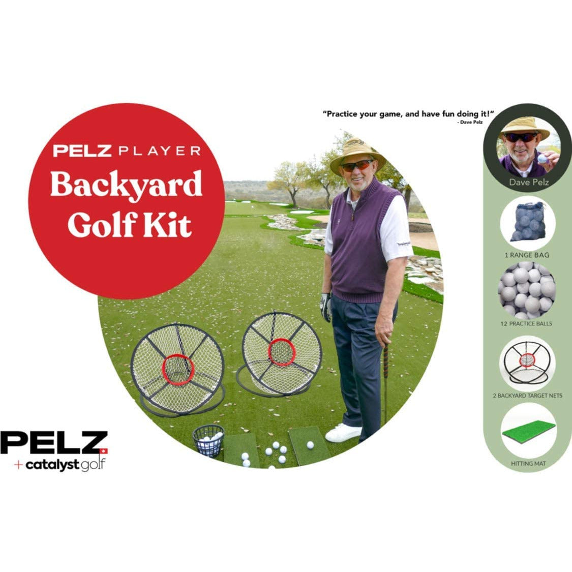 Pelz Player Backyard Golf Kit