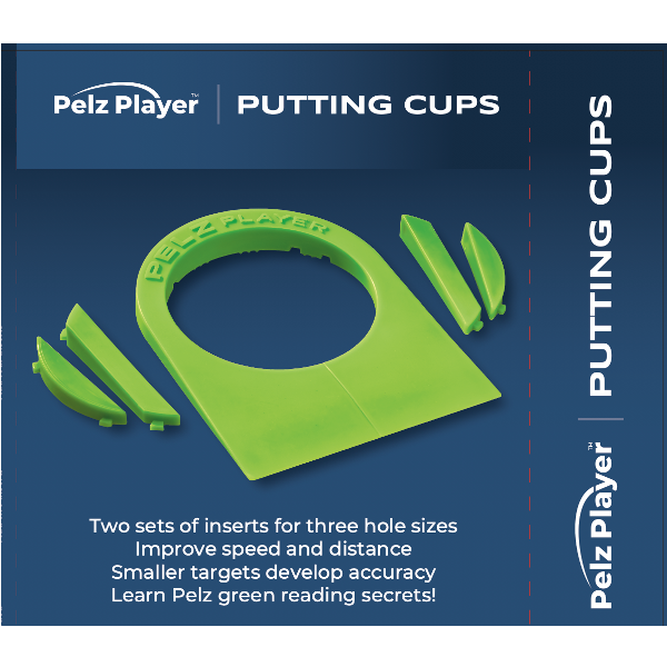 Pelz Player Putting Cups