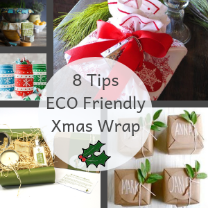 8 Earth Friendly Gift Wrapping Tips This Christmas!