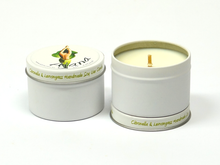 Citronella & Lemongrass Essential Oil Soy Wax Candle