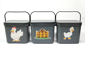 Recycling Buckets - Hamptons Chicken