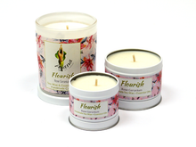 Flourish Essential Oil Soy Wax Candle