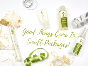 Good Things Come In Small Packages!