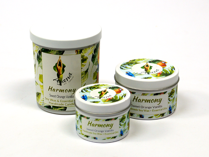 Harmony Essential Oil Soy Wax Candle