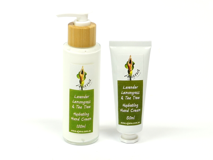 Lavender Lemongrass TeaTree Everyday Hand Cream