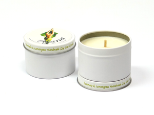 Rosemary & Lemongrass Soy Wax Candle