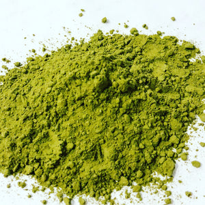 Sencha tea, green tea powder