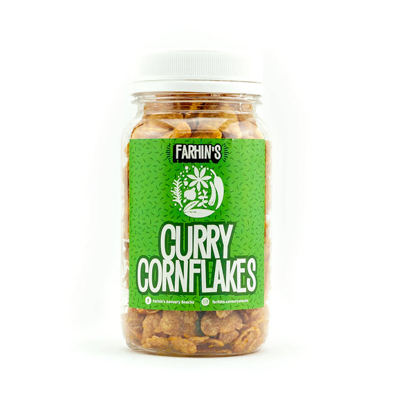 Farhin's Curry Cornflakes 300g