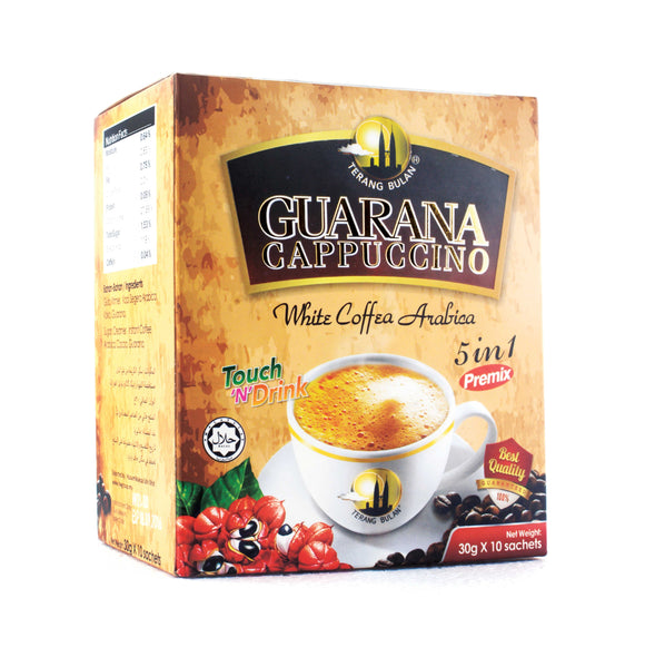 Terang Bulan Guarana Cappuccino 5 in 1