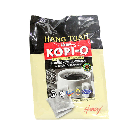 Hang Tuah Uncang Kopi-O Black Coffee sachet 10g x 20