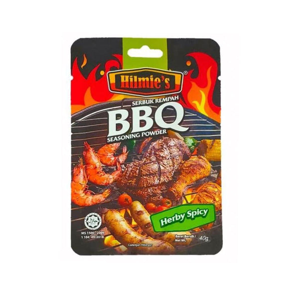 Hilmie's BBQ Herby Spicy 40g