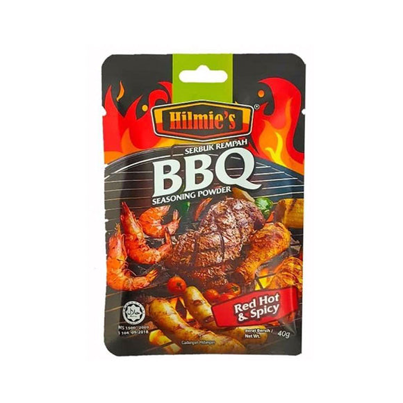 Hilmie's BBQ Red Hot & Spicy 40g