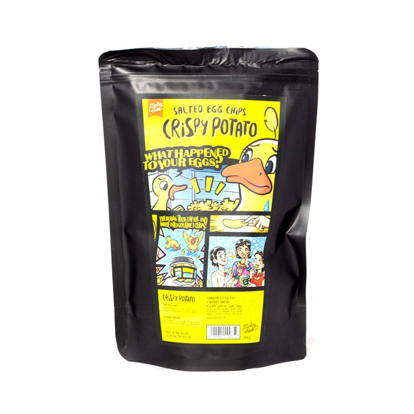 Malay Cook Salted Egg Potato Chips 100g