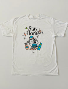STAY HOME-WHITE