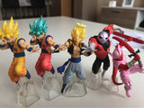Action Figure Dragon Ball Super  - Conjunto com 5 Personagens (Gashapon)