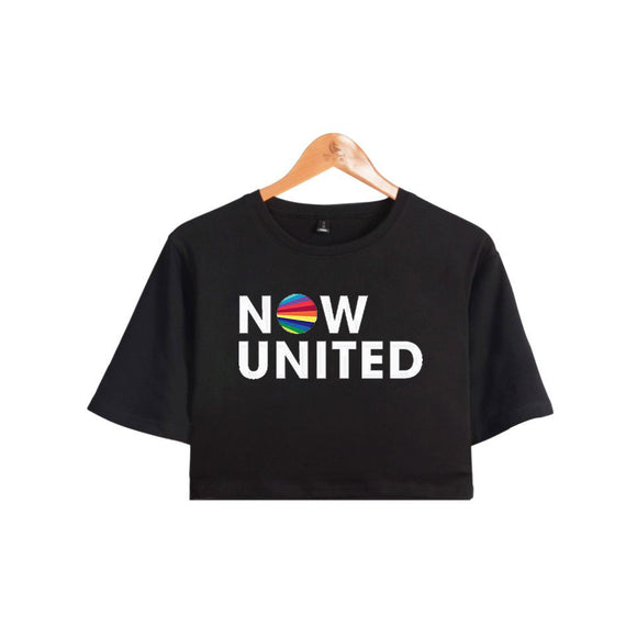Camiseta Cropped Now United