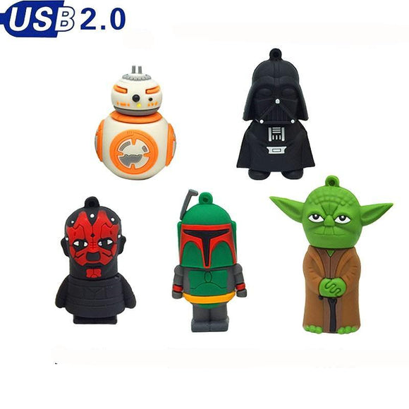 Pen Drive Personalizado: Personagens Star Wars