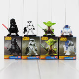 Kit com 4 Action Figure -  Star Wars