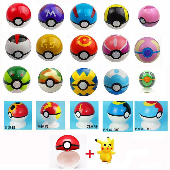 Miniatura  Pokebola + Pokemon