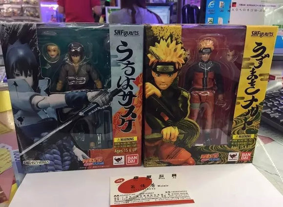 SH Figuarts Naruto  - Kit 2 Personagens