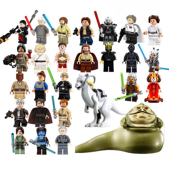 Bloco de Montar -  Mini Personagens Star Wars