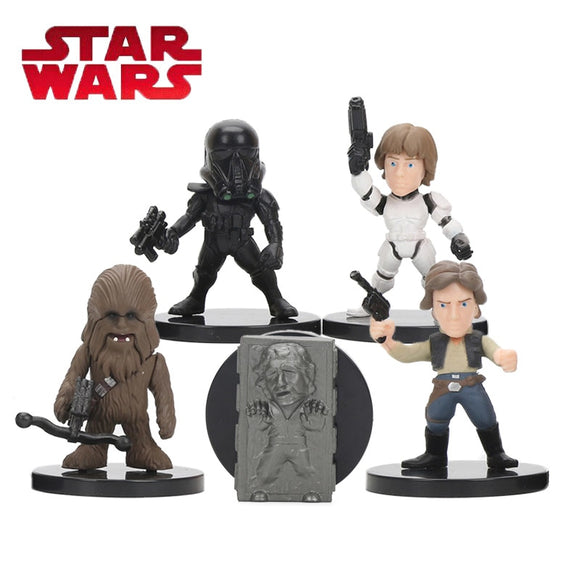Kit com 5 Action Figure -  Star Wars
