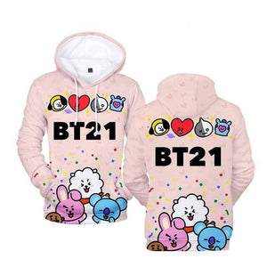 Moletom BT21