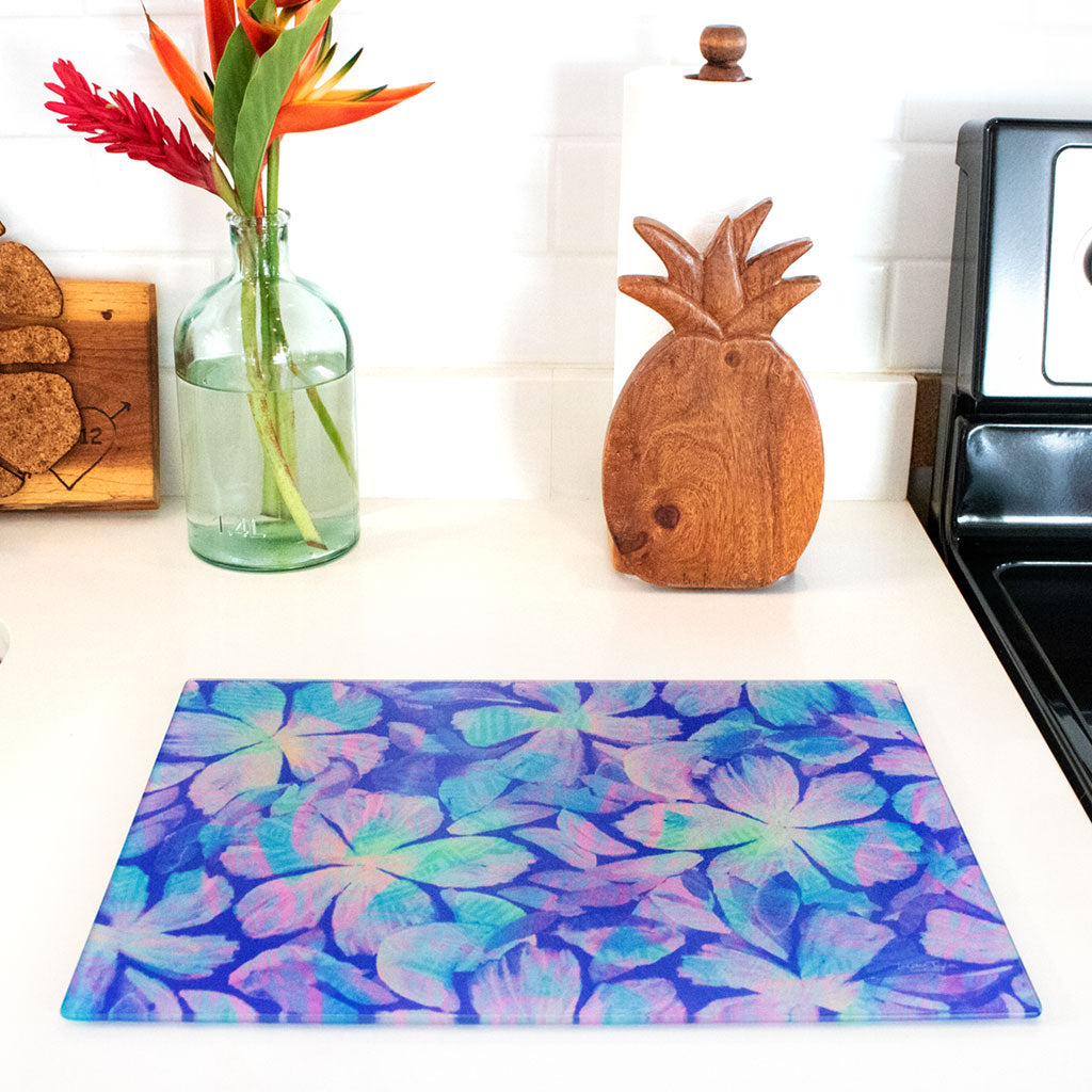 FLORAL FLARE CUTTING  BOARD