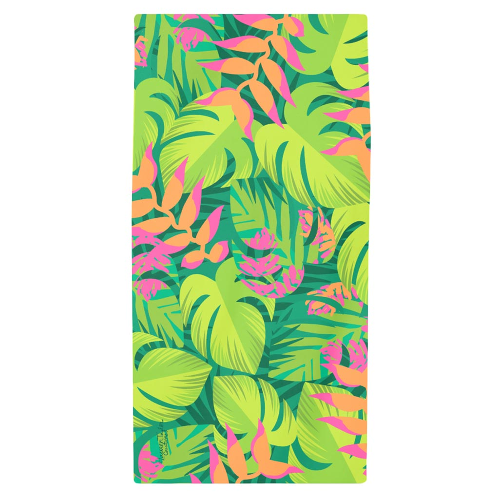 JUNGLE LEAF BEACH TOWEL