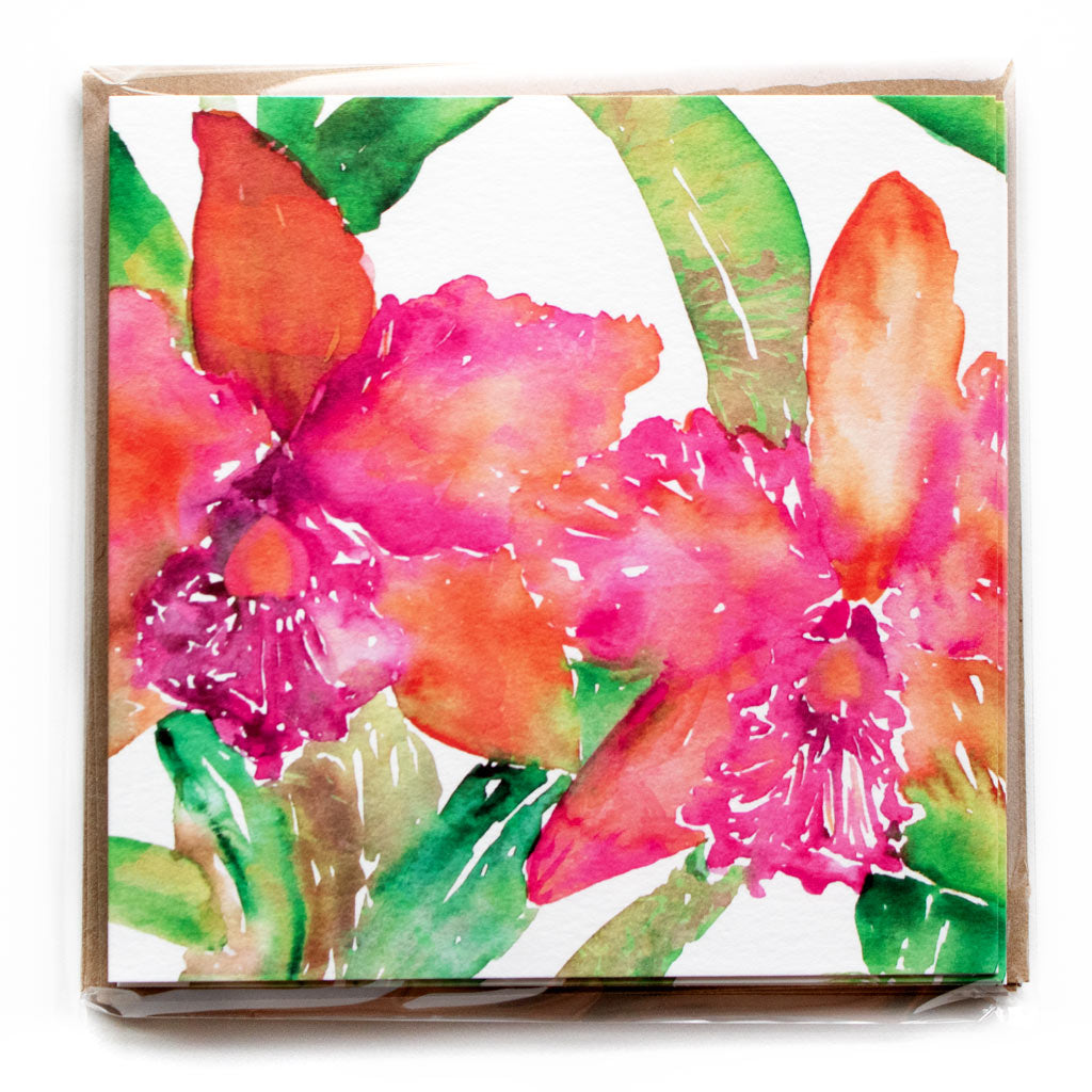 ORCHID LOVE NOTECARD PACK