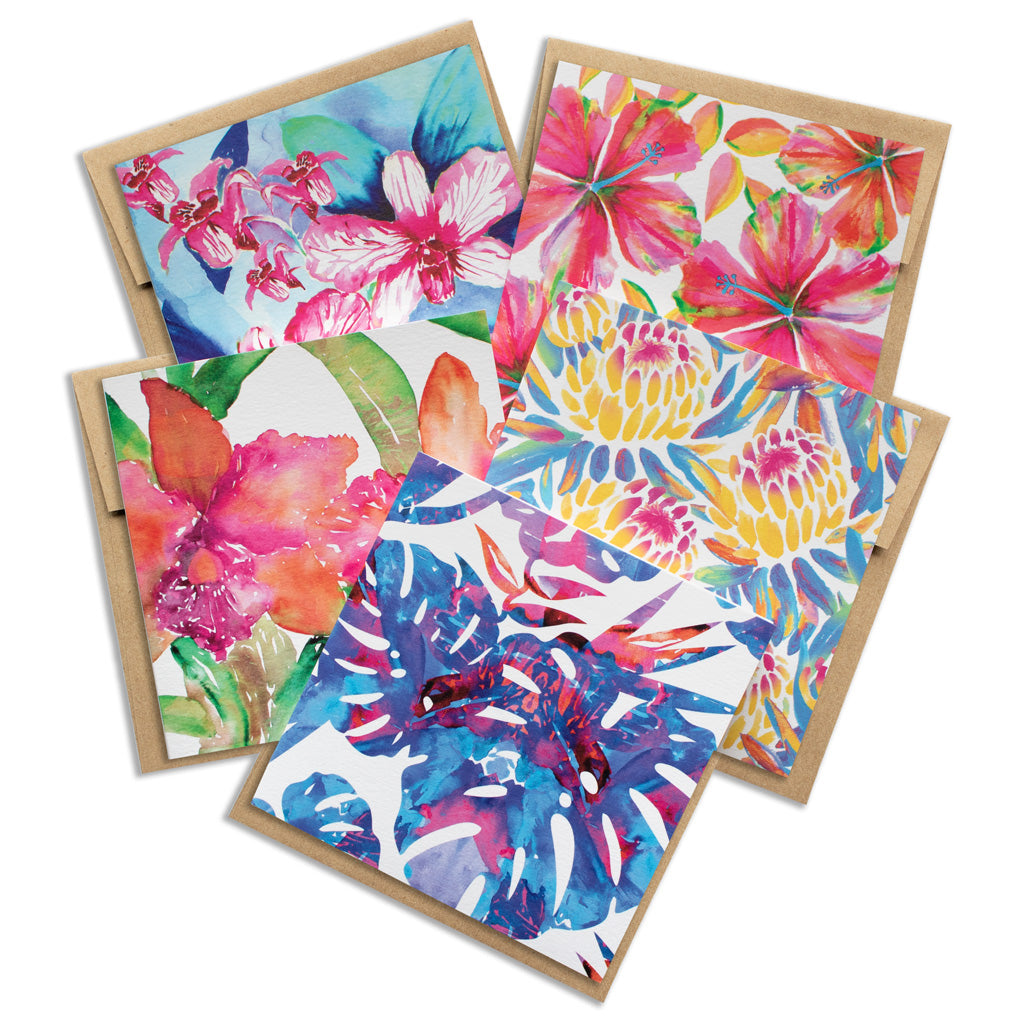 WATERCOLOR FLORALS VARIETY PACK