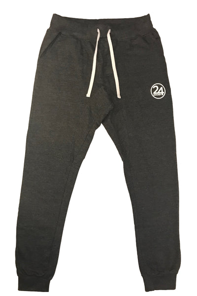 Men's 24 hockey grey hockey apparel jogger pants