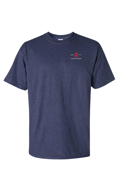 Men's 24 hockey men's hockey apparel navy t-shirt