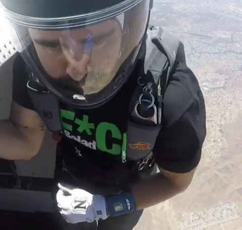 Marc Shelton Skydiving