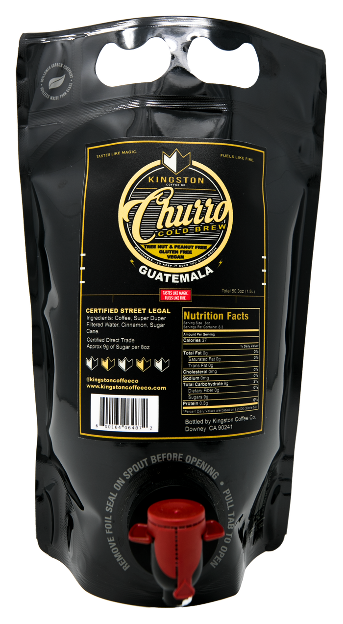 CHURRO COLD BREW 50oz POUCH
