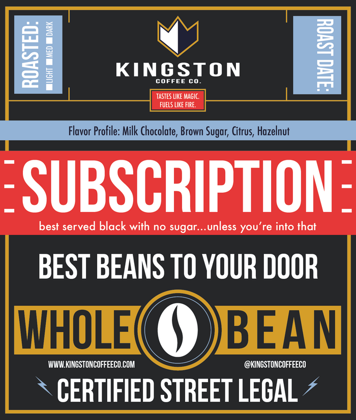 Kingston Coffee Subscription